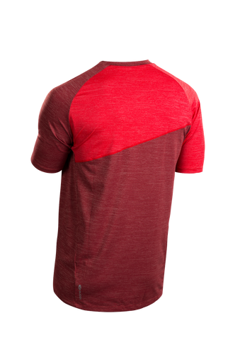 SUGOI Men's Trail Jersey, Red Dahlia Alt (U580000M)
