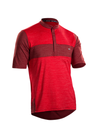 SUGOI Men's RPM Jersey, Chili Red 2 (U580010M)