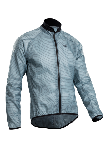 SUGOI Men's RS Jacket, Harbour/Line Print (U705010M)