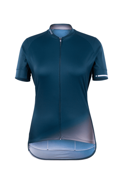 SUGOI Women's Evolution Zap Jersey, Orchid Tint Gradient (U576010F)