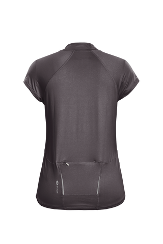 SUGOI Women's RPM Jersey, Dark Charcoal Alt (U580010F)