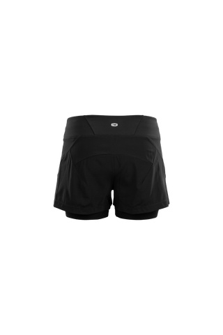 SUGOI Women's Prism 2-In-1 Shorts, Black Alt (U301080F)