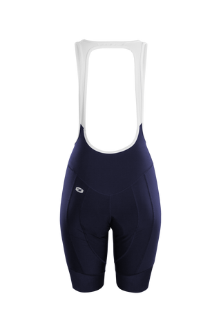 SUGOI Women's RS Pro Bib Shorts, Deep Navy Alt (U391000F)