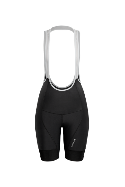 SUGOI Women's Evolution Bib Shorts, Black (U392000F)