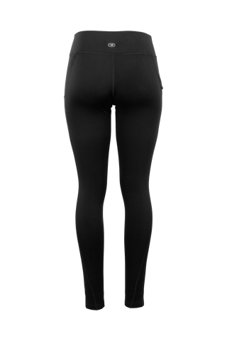 SUGOI Women's SubZero Tight, Black Alt (U405510F)