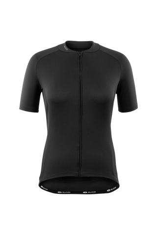 SUGOI Women's Essence Jersey , Black (U575560F)
