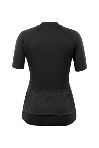SUGOI Women's Essence Jersey , Black Alt (U575560F)