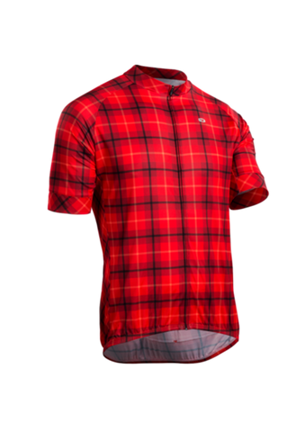 SUGOI Evolution Zap Jersey, Chilli Plaid (U576010M)