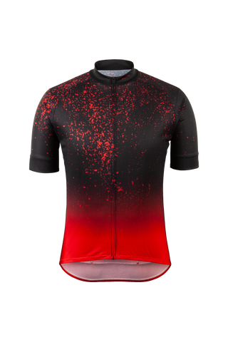 EVOLUTION ZAP JERSEY,Red Dark   (U576010M)