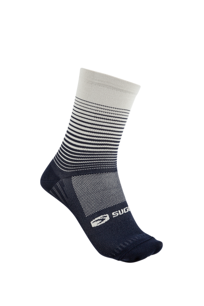 SUGOI  RS Crew Sock-Printed, Deep Navy (U941000U)