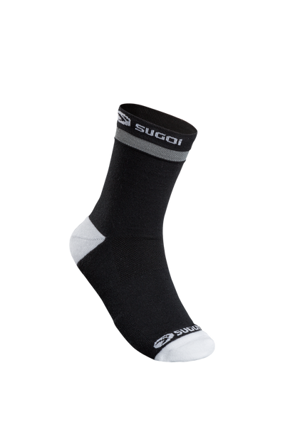 SUGOI Zap Winter Sock, Black / White (U947000U)