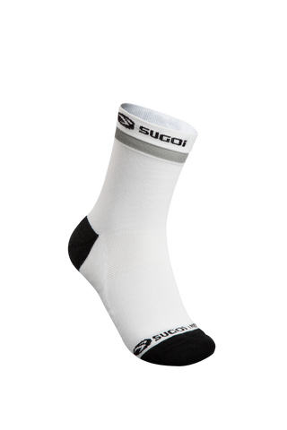 SUGOI Zap Winter Sock, White / Black (U947000U)