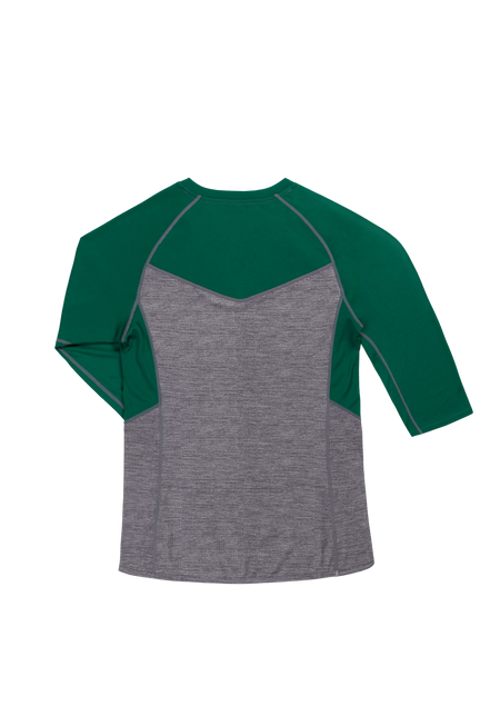 Sombrio Women's Vista Jersey, Evergreen Heather Alt (B590100F)