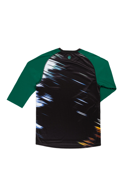 Sombrio Men's Chaos Jersey, Evergreen Tunnel Alt (B590110M)