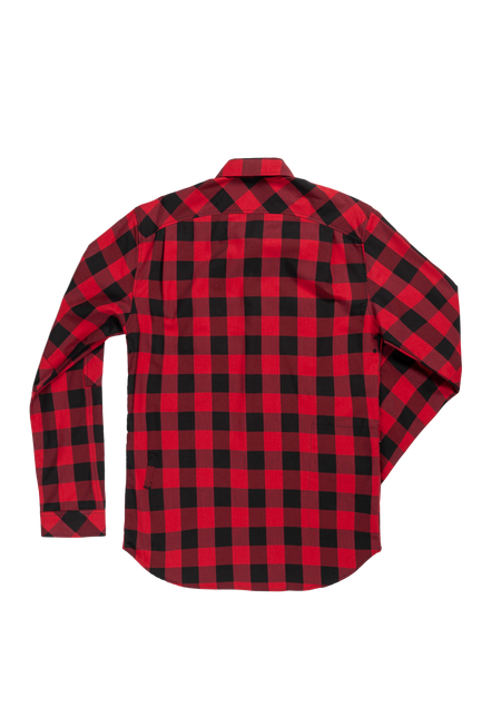 Sombrio Men's Vagabond Riding Shirt, Buffalo Plaid Alt (B695020M)