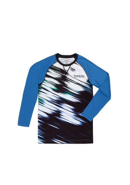 Sombrio Groms Chaos L/S Jersey, Evergreen Tunnel (B860010J)