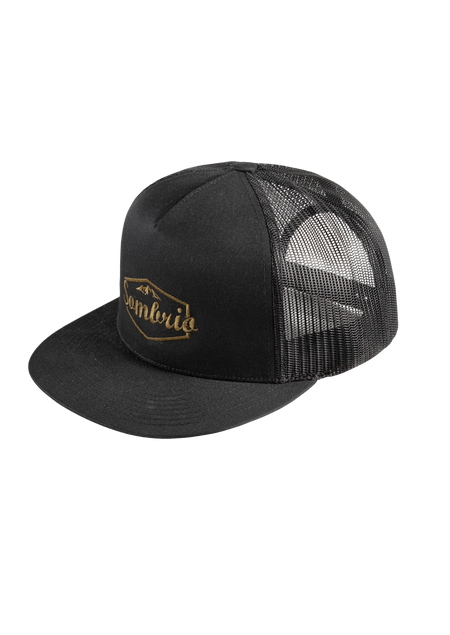 Sombrio Men's Cypress Flatbrim, Black Luxury (B920100M)