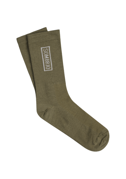 Sombrio Men's Podium Socks, Moss (B940070M)