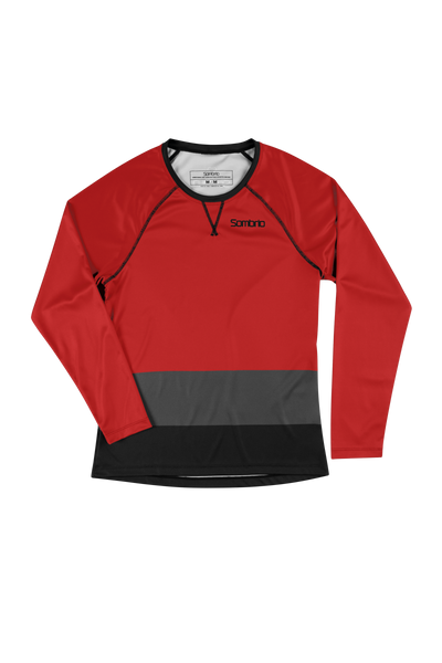 Sombrio Custom Alder L/S Jersey - Colour Block, Risk (CJ31F_LS_CLR)