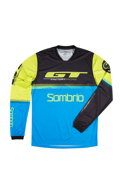 Sombrio Men's GTFR 17 Replica Jersey, GTFR Graphic (G069030M)