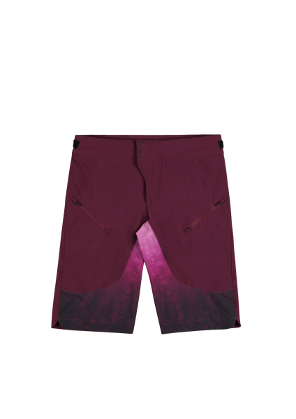 Sombrio Women's Summit Shorts, Fig Tie Dye (36014W)