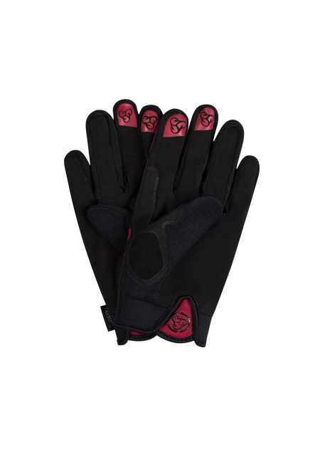 Sombrio Men's Prodigy Gloves, Deep Red Alt (91001M)