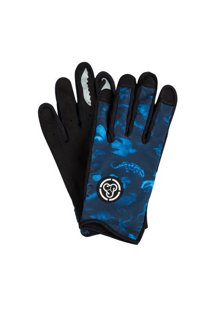 Sombrio Men's Spun Gloves, Dark Night Forest Creatures (91002M)