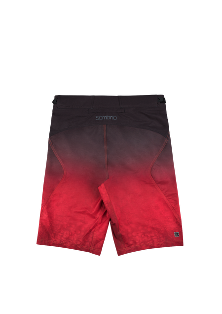 Sombrio Men's Highline Shorts, Deep Red Tie Dye Alt (B360040M)