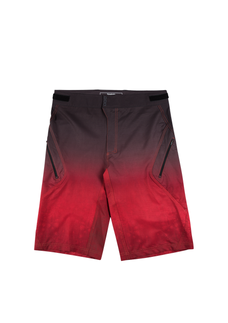 Sombrio Men's Highline Shorts, Deep Red Tie Dye (B360040M)