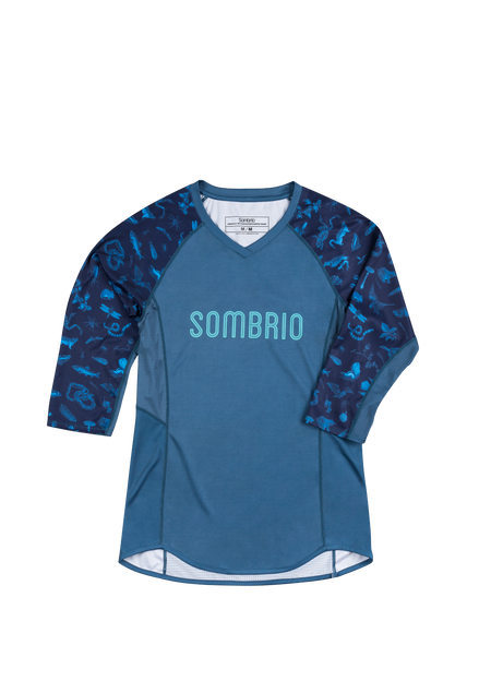 Sombrio Women's Vista Jersey, Dark Night Forest Creatures (B590100F)
