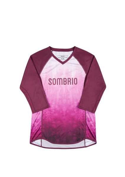 Sombrio Women's Vista Jersey, Fig Tie Dye (B590100F)