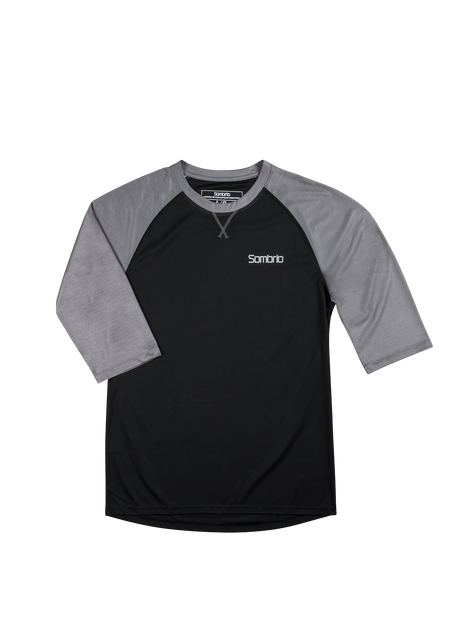 Sombrio Men's Chaos Jersey, Black (B590110M)