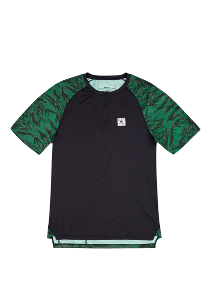 Sombrio Men's Ridgeline Jersey, Green Grizzly Camo (B592030M)