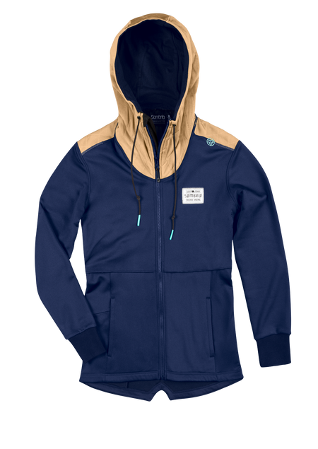 Sombrio Women's Quarry Hoodie, Dark Night (B652020F)