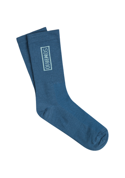 Sombrio Men's Podium Socks, Pacific Teal (B940070M)