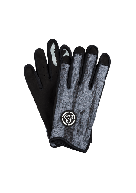 Sombrio Men's Spun Gloves, Grey Bark (91002M)