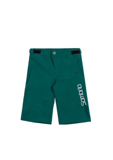Sombrio  Groms Rebel Shorts, Deep Jade (B840020J)