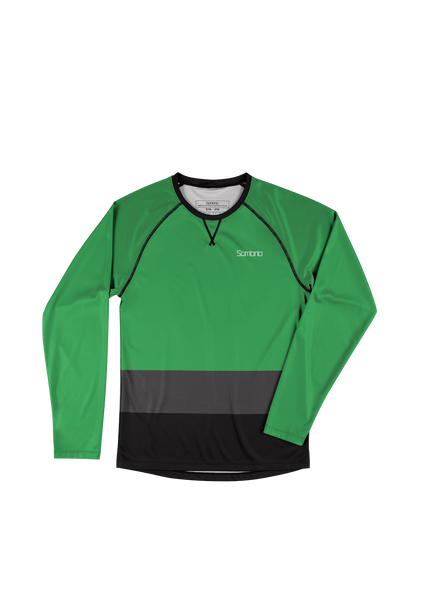 Sombrio Custom Groms Chaos L/S Jersey - Colour Block, Amazon (CJ32J_LS_CLR)