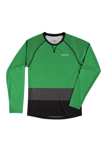 Sombrio Custom Chaos L/S Jersey - Colour Block, Amazon (CJ30M_LS_CLR)