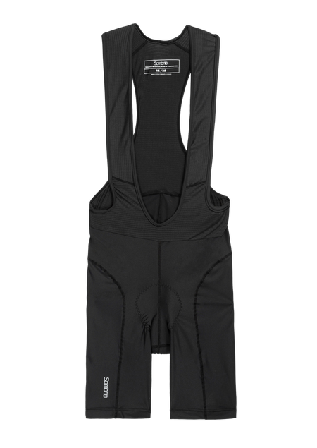 Sombrio Men's Crank Pro Bib Shorts, Black (B394010M)