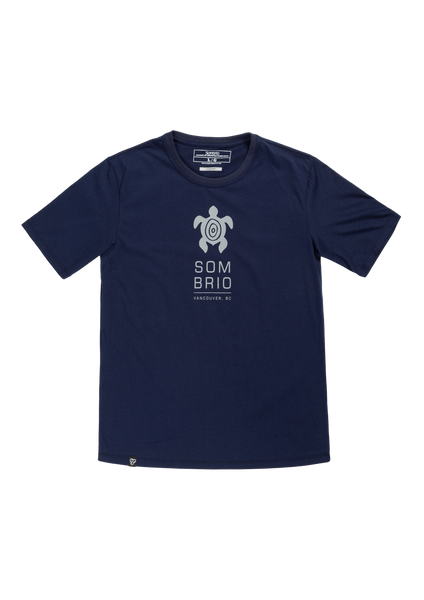 Sombrio Men's Stock Tee, Gray Creature (B500100M)