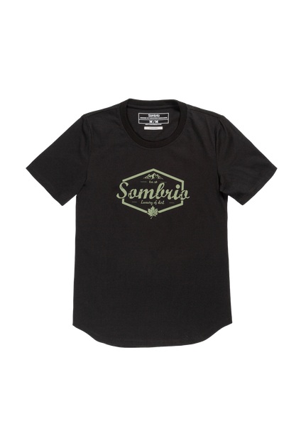Sombrio Women's Essential Tee, Black Luxury (B501000F)