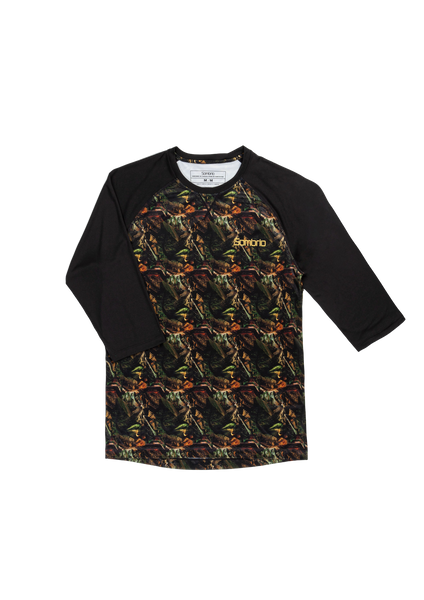 Sombrio Men's Chaos Jersey, Head Trip Camo (B590110M)