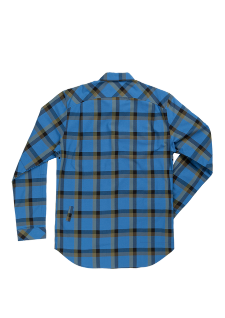 Sombrio Men's Vagabond Riding Shirt, Creek Plaid Alt (B695020M)