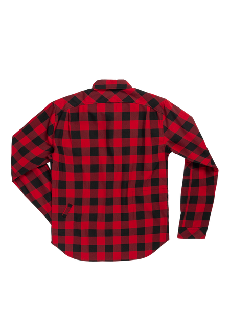Sombrio Women's Silhouette Riding Shirt, Buffalo Plaid Alt (B695030F)
