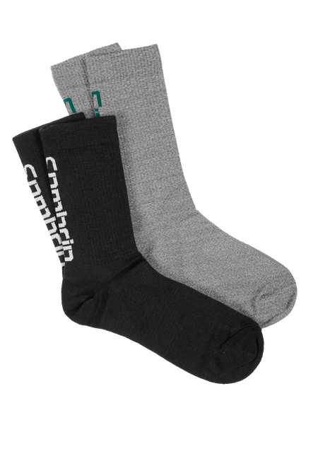 Sombrio Men's Rival Socks, Black/Grey (B940500M)
