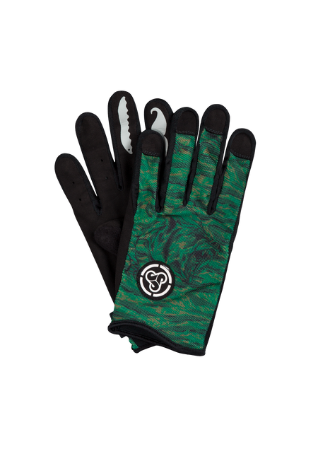 Sombrio Men's Spun Gloves, Green Grizzly Camo (91002M)