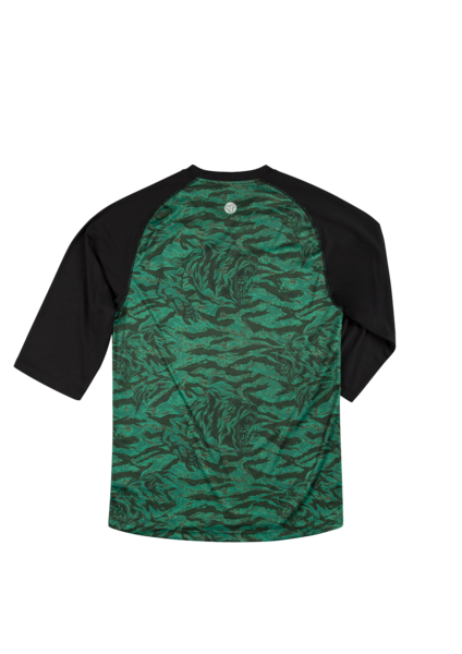 Sombrio Men's Chaos Jersey, Green Grizzly Camo Alt (B590110M)