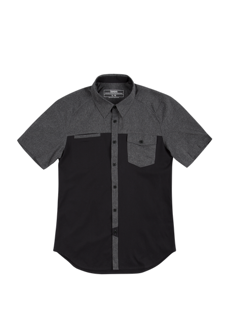 Sombrio Men's Shore Shirt, Black (S59510M)