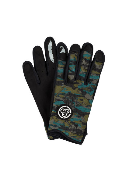 Sombrio Men's Spun Gloves, Trade Camo (91002M)